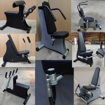 exercise equipment frames welded