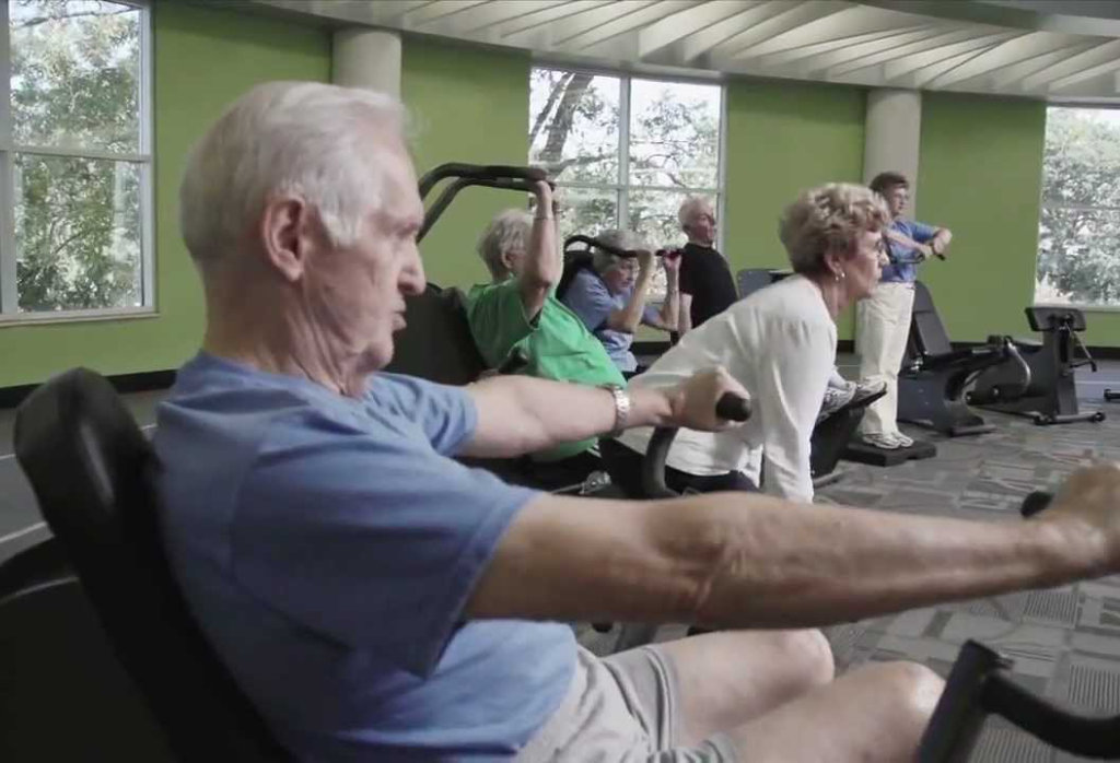 fitness equipment made for seniors active aging elderly