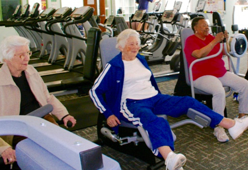 senior community workout equipment for sale