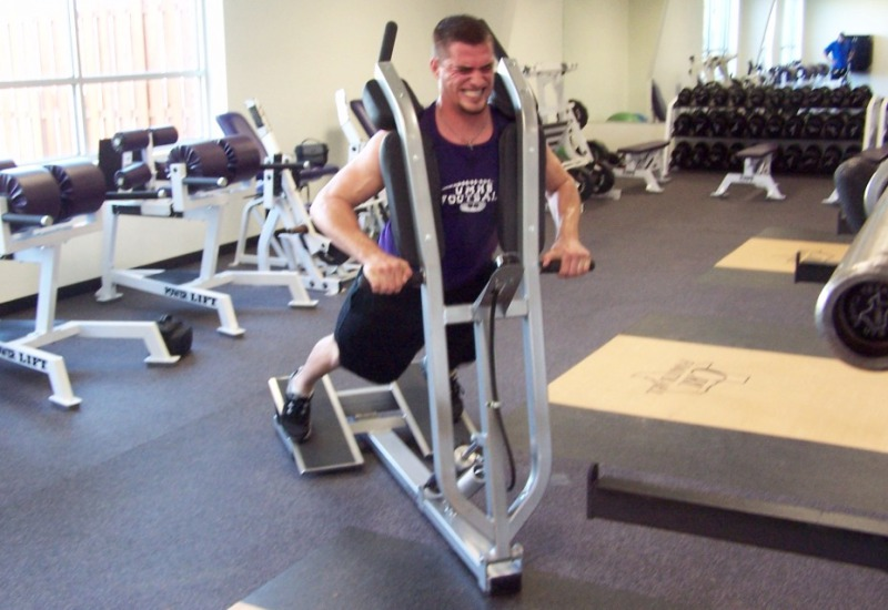 football tackle power squat press block machine