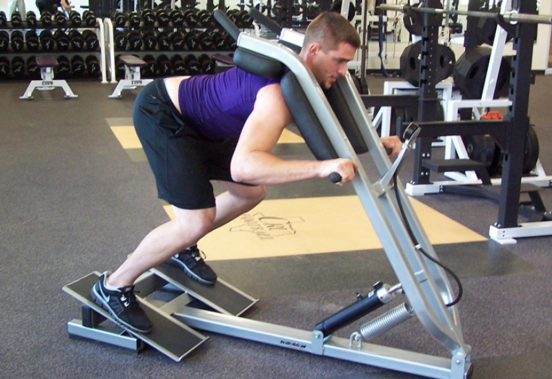 full body football block trainer machine strength