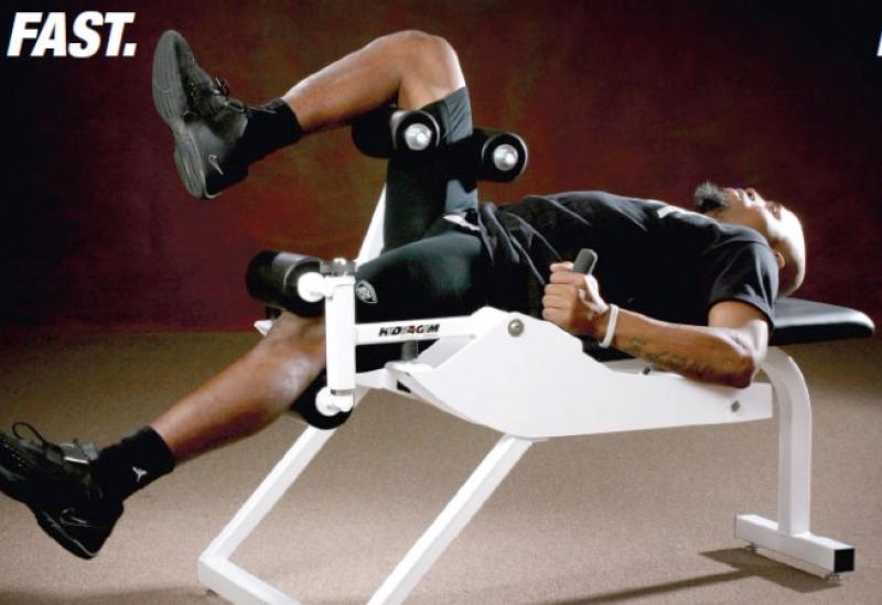 speed train equipment quad ham workout hyda-gym vert