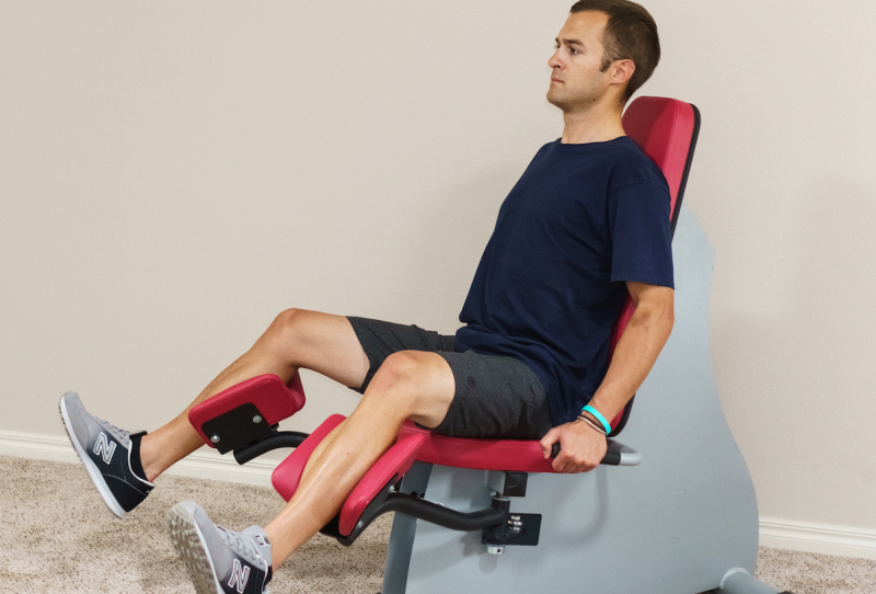 adductor abductor hydraulic machine for thighs
