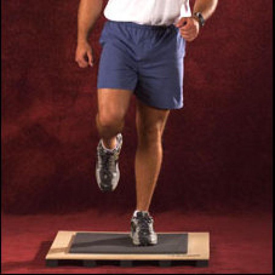 heavy sturdy fitness board jog walk cushioned step