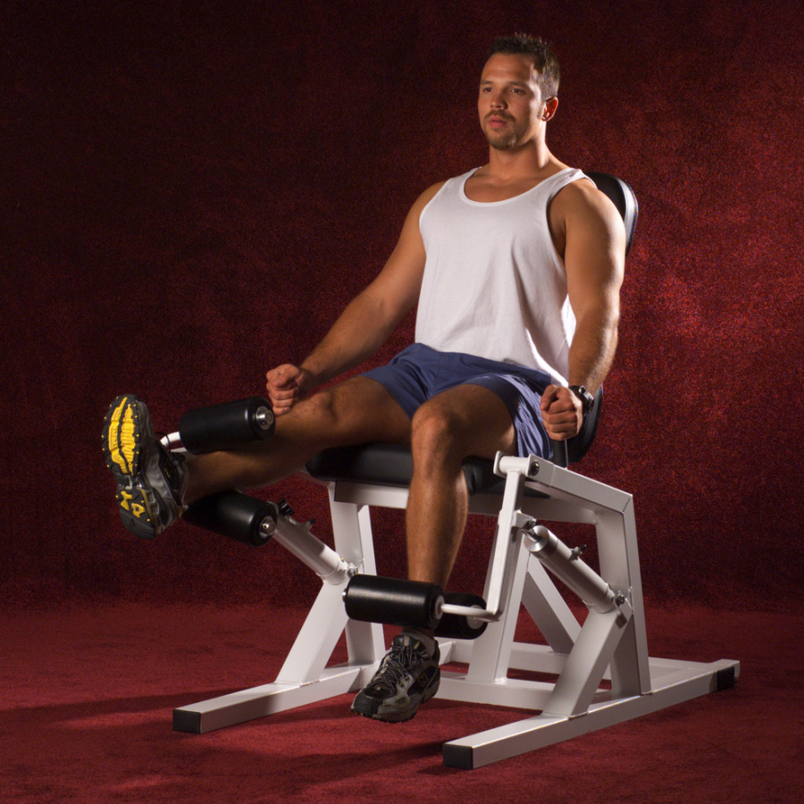 AeroStrength Unilateral Double Leg Extension Knee Curl