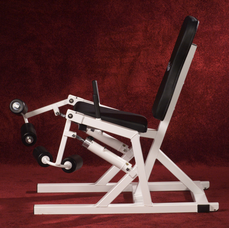 hydraulic fitness unilateral knee curl leg extension machine