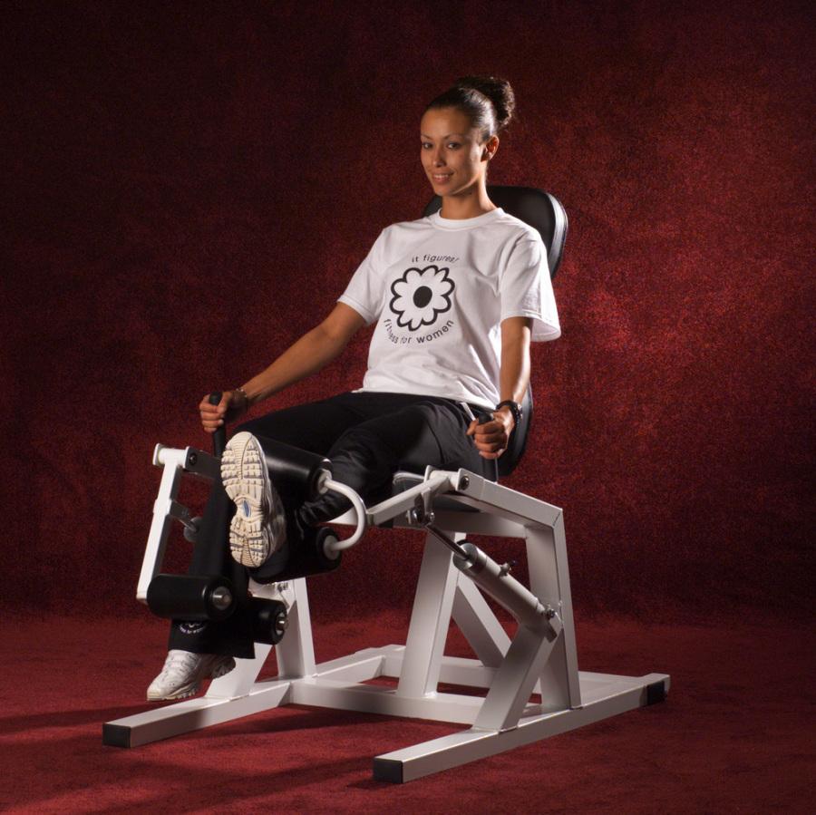 hydragym knee curl power knee quad ham machine