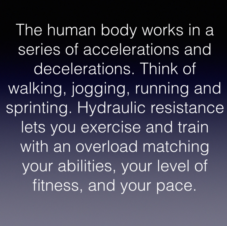 hydraulic resistance exercise matches speed force
