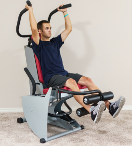 home multi-gym rehab physical therapy hydraulic cylinders