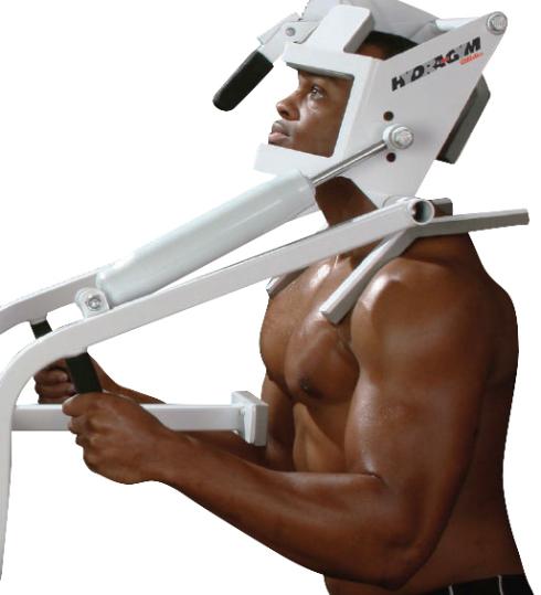 hydra-gym power neck 4-way neck exercise equipment